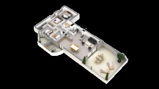 appartement G03 de type T4