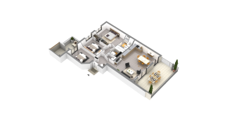 appartement G51 de type T4