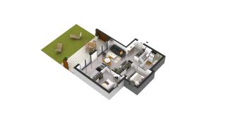 appartement D08 de type T3