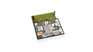 appartement D14 de type T3