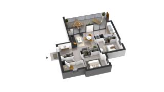 appartement D21 de type T3