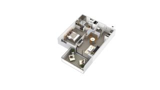 appartement B1-13 de type T2