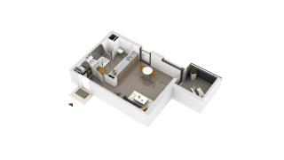 appartement B1-17 de type T1