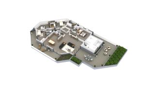 appartement B1-51 de type T5