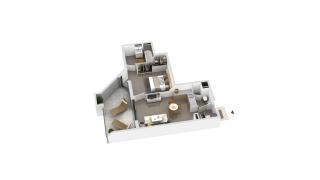 appartement B2-02 de type T2