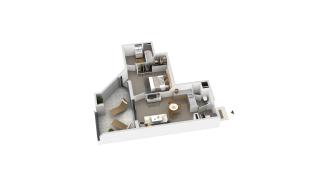 appartement B2-15 de type T2