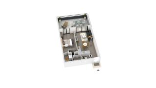 appartement B2-21 de type T2