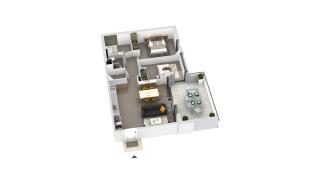 appartement B2-22 de type T3