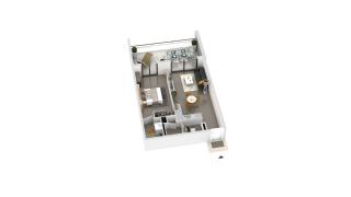 appartement B2-31 de type T2