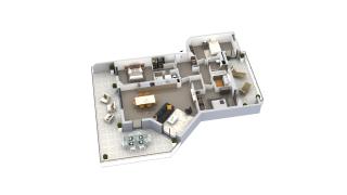 appartement B2-54 de type T4