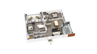appartement B2-61 de type T4