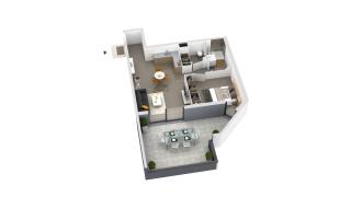 appartement B3-001 de type T2