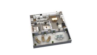 appartement B3-002 de type T3