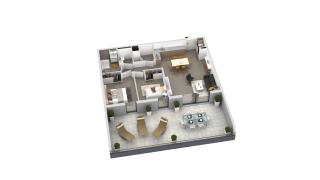 appartement B3-03 de type T3