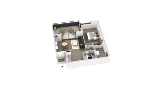 appartement B3-12 de type T2