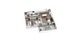 appartement B3-34 de type T3